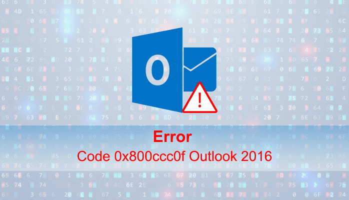 0x800ccc0f Outlook 2016